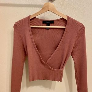 Stylish Crop Sweater